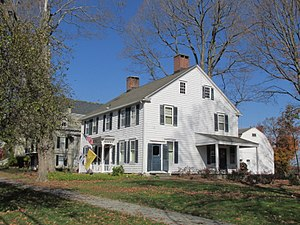 National Register of Historic Places listings in Fairfield County, Connecticut - Image: 32 Main Street, Newtown CT
