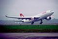 382bi - Swiss Airbus A330-223, HB-IQJ@ZRH,15.10.2005 - Flickr - Aero Icarus.jpg