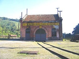 São Paulo Railway Company - Image: 5ª Machina Novos Planos Inclinados