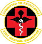 61 Medical Sq emblem.png