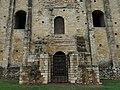 689 Santa María del Naranco (Oviedo), façana sud, portes superior i inferior.jpg