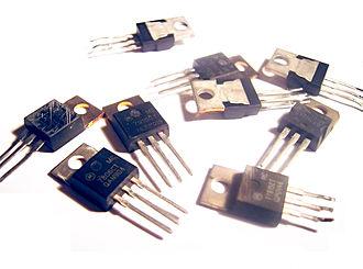 Linear regulator - An assortment of 78xx series ICs
