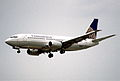 8bx - Continental Airlines Boeing 737-3T0; N17317@MIA;24.01.1998 (5326780409).jpg