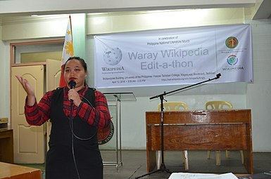 8th Waray Wikipedia Edit-a-thon 26.JPG