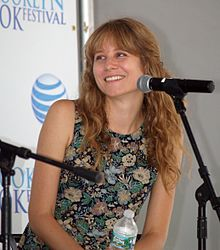 Baker at the 2014 Brooklyn Book Festival