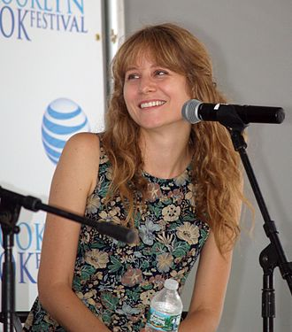 Annie Baker - Baker at the 2014 Brooklyn Book Festival