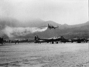 99th Air Base Wing - Emergency landing at Tortorella, Italy, 1944