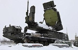 S-300 missile system - 9S32 engagement radar