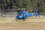 Aérospatiale AS 350BA Ecureuil (VH-SWH) operating joy flights at the 2018 Canberra Airport open day.jpg
