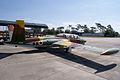 Aérospatiale Fouga CM.170-1 Magister RSideRear KAM 09Feb2011 (14797387157).jpg