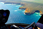 A193, Port Campbell National Park, Australia, coastline from helicopter, 2007.JPG