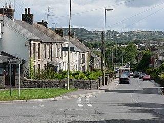 Brynsadler village in United Kingdom