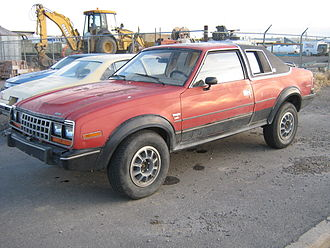 AMC Eagle - AMC Eagle 2-door sedan