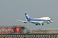 ANA B747-400D(JA8965) approach @RJTT HND (3505655585).jpg