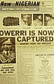 ASC Leiden - Rietveld Collection - Nigeria 1970 - 1973 - 01 - 093 New Nigerian newspaper page 7 January 1970. End of the Nigerian civil war with Biafra.jpg