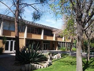 Edward L. Varney - Interdisciplinary Buildings, originally Administration buildings ASU 1950-51