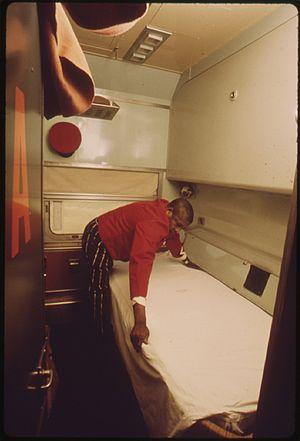Car attendant - Amtrak sleeping car attendant