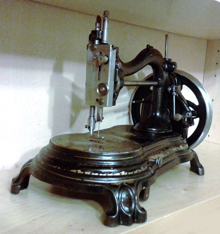 FileA Bradbury Wellington Sewing Machinejpg Wikimedia Commons Interesting Sewing Machine Wellington