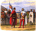A Chronicle of England - Page 316 - Edward the Black Prince Extorts an Amnesty from Pedro the Cruel.jpg