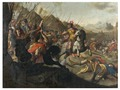 A Roman Battle (Simon Peter Tilemann) - Nationalmuseum - 21626.tif
