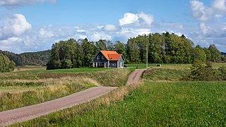 A dip in the road in Färlev.jpg