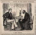 A doctor giving his prognosis and therapeutic suggestions to Wellcome V0011402.jpg