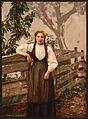 A girl of Voss, Hardanger Fjord, Norway-LCCN2001699479.jpg