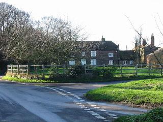 Northbourne village in United Kingdom