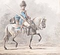 A mounted cavalryman, by Dirk Langendijk (Rotterdam 1748 - 1805).jpg
