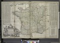 A new and exact map of France divided into all its provinces and acquisitions, ... NYPL1630450.tiff