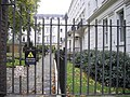 A polite notice on Railings of Bessborough Gardens - geograph.org.uk - 1574553.jpg