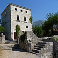 A rare exception in Stari Bar a renovated building.jpg