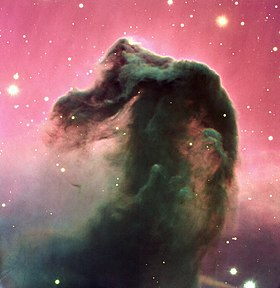 A reproduction of a composite colour image of the Horsehead Nebula and its immediate surroundings - Eso0202a.jpg