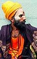 A sadhu (holy man) in Ahmedabad.jpg