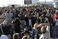 A sea of people watch 10 4 2004 as SpaceShipOne makes it second flight photo D Ramey Logan.JPG