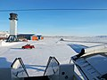 A sunny view of the ramp at Thule Air Base, Greenland.jpg