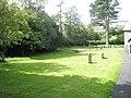 A verdant churchyard at St Michael, Stanton Long - geograph.org.uk - 1446664.jpg