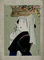 A woman as Ohara-me, of the Ohara village outside Kyoto, who Wellcome V0047340.jpg