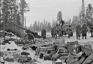 Operation Silver Fox - Captured Soviet equipment