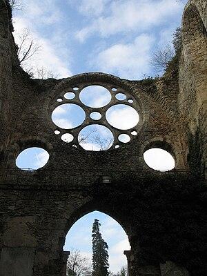 Vaux-de-Cernay Abbey - The ruined abbey church
