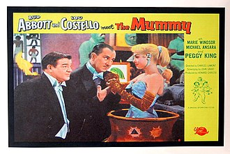 Abbott and Costello Meet the Mummy - Lobby card