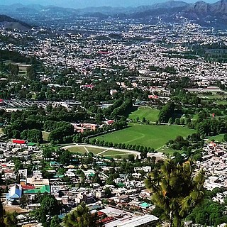 Abbottabad City in Khyber Pakhtunkhwa, Pakistan