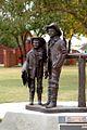 Abernathy Boys Statue in Frederick, OK.jpg