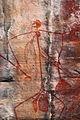 Aboriginal rock art -Ubirr Art Site, Kakadu National Park, Northern Territory, Australia-9June2012.jpg