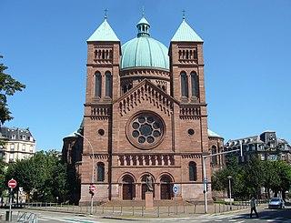 Saint-Pierre-le-Jeune Catholic Church Church in Strasbourg, France