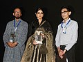 Actress Sridevi Boney Kapoor at the inauguration of the Indian Panorama section, during the 48th International Film Festival of India (IFFI-2017), in Panaji, Goa on November 21, 2017.jpg