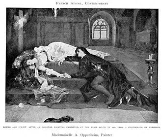 Adeline Oppenheim Guimard - Image: Adeline Oppenheim Guimard Romeo and Juliet 1900