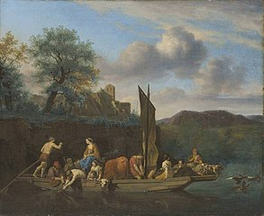 Landscape with Ferry