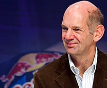 Adrian Newey - the talented, nice, clever, intelligent,  celebrity  with British roots in 2017