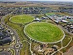 Aerial perspective of Tarneit Central Cricket Club. Shot in 4th quarter 2018.jpg